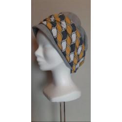 Bonnet chimio CLARISSE gris...